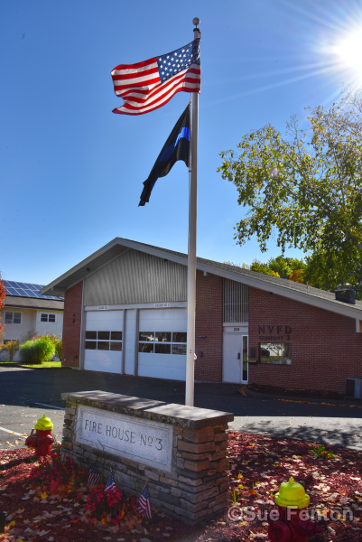 Front of Company 3 Fire Department