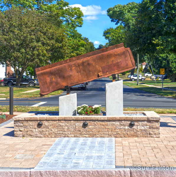 September 11, 2001 memorial at Newington Volunteer Fire Department
