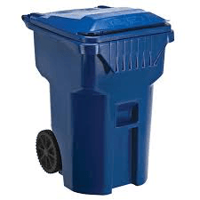 Blue Reycling Container