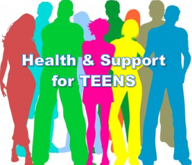 health and support wbsites for teens