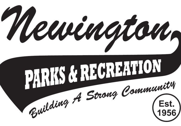 Newington Parks and Recreation swoosh-style logo