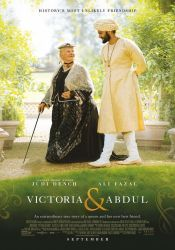 dvd cover for Victoria and  Abdul