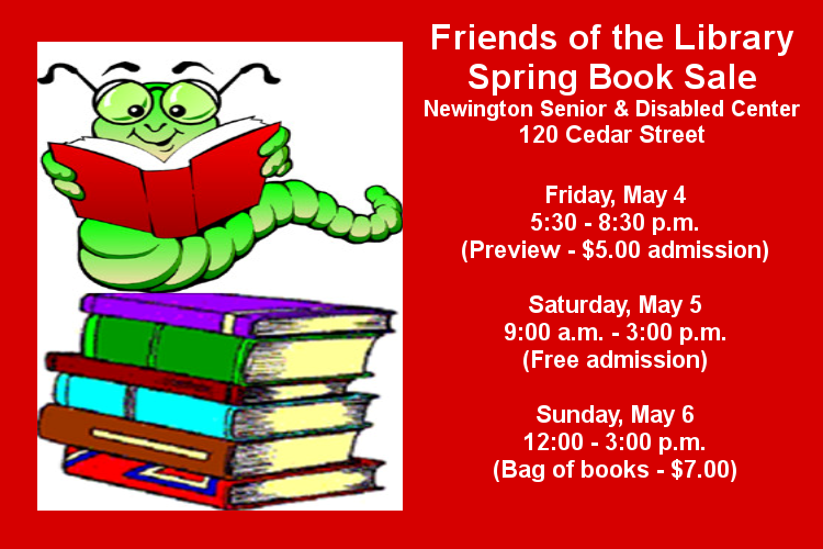 Friends  spring book sale