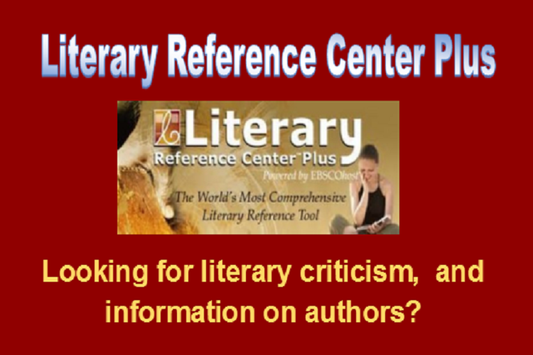 literary reference center carousel
