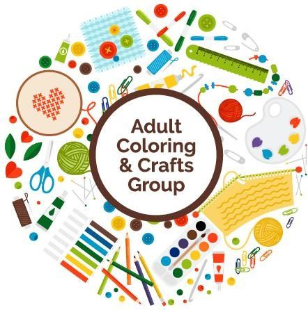 adult coloring and crafts