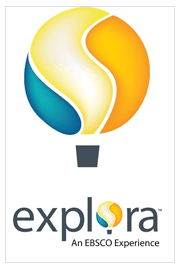 Ebsco Explora balloon logo