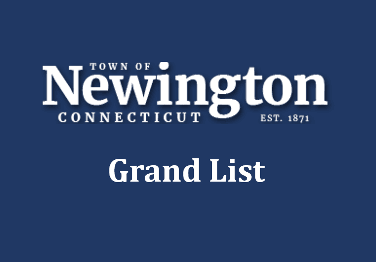 Town of Newington grand list graphic