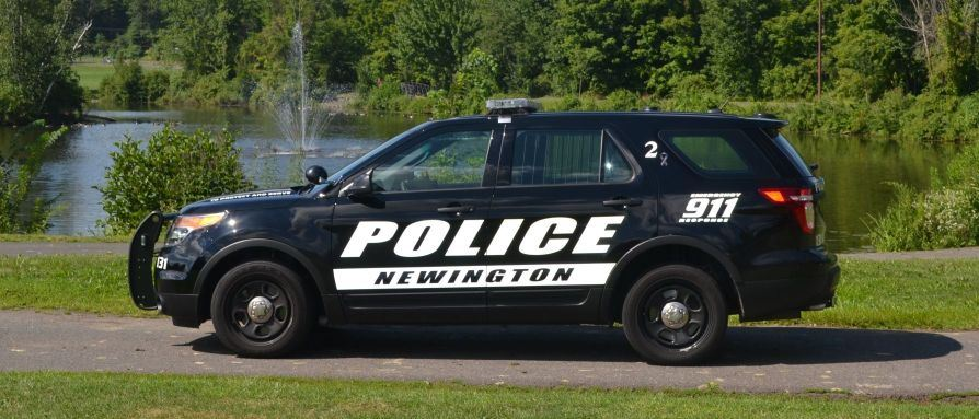 Newington Police Car