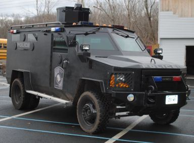 Bearcat Armored Vehicle