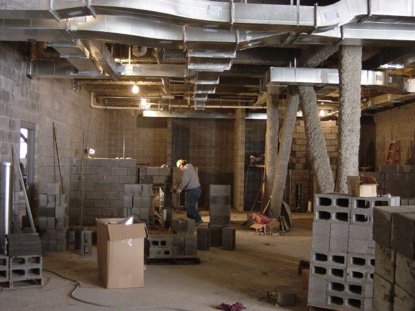 Cell Block Construction February 24, 2005