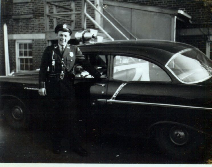 1950's Cruiser With Officer