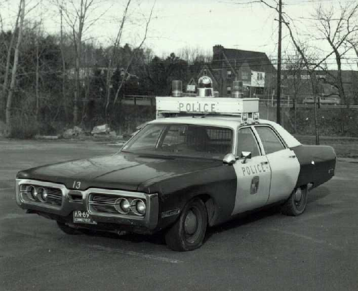 1970's Plymouth Line Cruiser with Specialized Light Bar