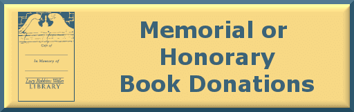 memorial and honorary book donations