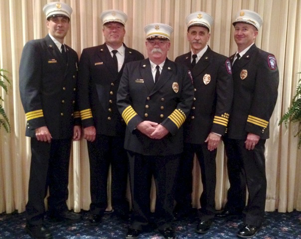 Newington Volunteer Fire Department Command Staff