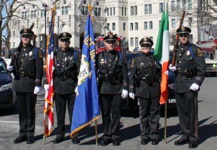 Newington Police Department Honor Guard Members