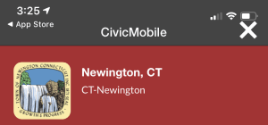 Picture of Newington CT found when searching Civic Mobile App